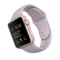 Watch Sport 38mm Rose Gold with Lavender Sport Band MLCH2RU/A